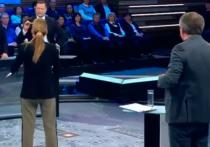 Ведущая программы «60 минут» на канале «Россия-1» Ольга Скабеева объяснила, почему назвала общественного деятеля Никиту Исаева идиотом и попыталась выгнать его из студии