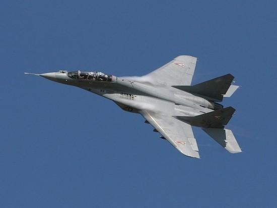 МиГ-29 разбился в Подмосковье, сообщили СМИ