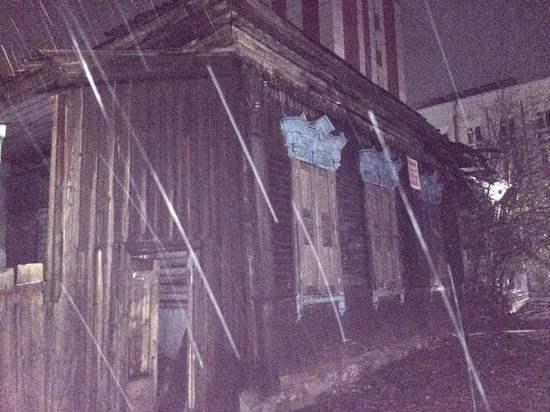 В Улан-Удэ на месте пожара по улице Некрасова найдено тело мужчины