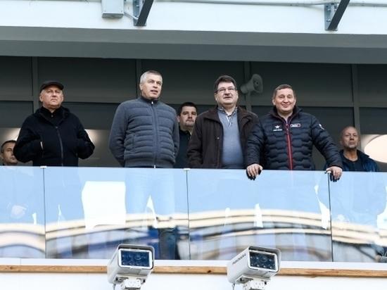 Андрей Бочаров поздравил волгоградский «Ротор» с победой