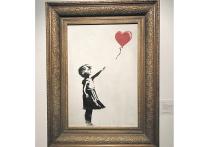 Цена разрезанной картины Бэнкси может возрасти в десять раз