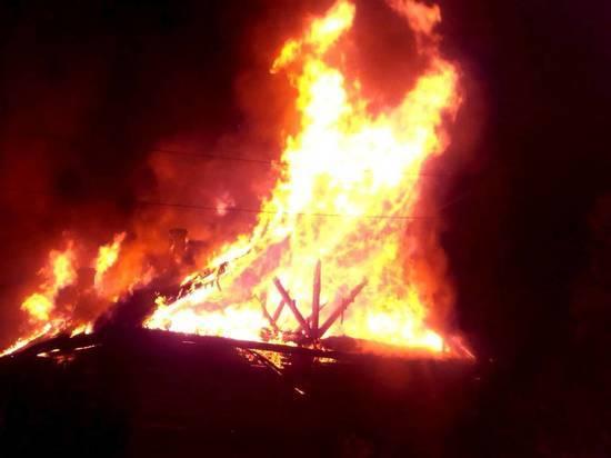 В Белохолуницком районе пожар уничтожил имущество многодетной семьи