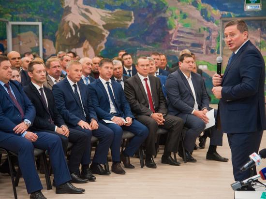 Андрей Бочаров встретился с главами муниципальных образований региона