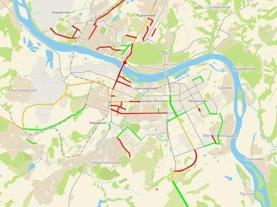 В Кемерове закончены ремонтные работы на 11 участках дорог