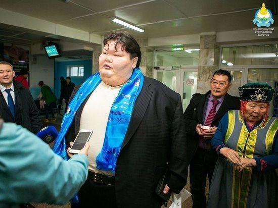 В Бурятию вернулся сумоист Анатолий Михаханов