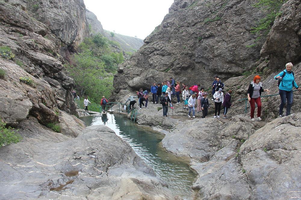 Крым великолепный: неизвестные тропы к Арпатским водопадам