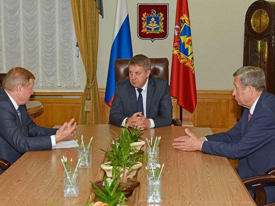Александр Богомаз провел  встречу с главой  Новозыбковского района