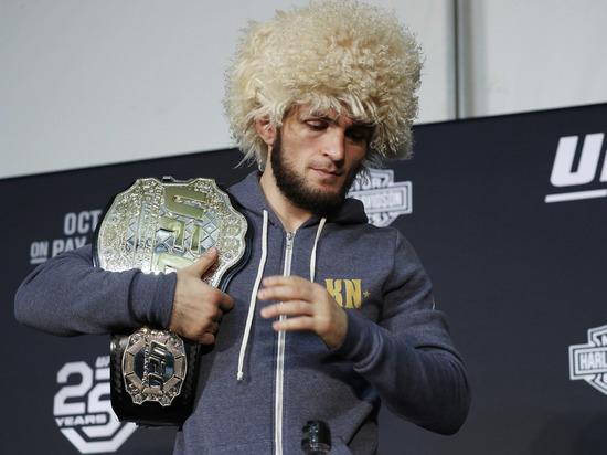 Хабиб Нурмагомедов сместил Конора Макгрегора в рейтинге UFC