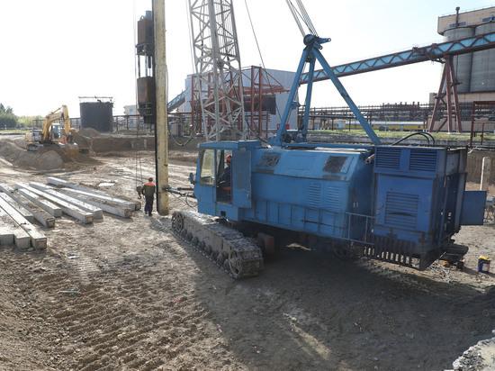 Группа НЛМК начала строительство комплекса трамбования шихты на площадке Алтай-Кокс