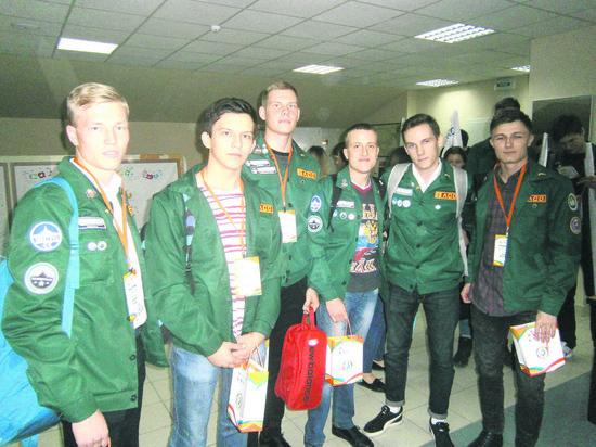 В Тюмени состоялся слёт студенческихотрядов УрФО