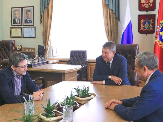 Глава Брянской области провёл встречу с Валерием Фёдоровым