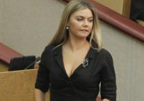 Алина Кабаева приехала защищать кандидатскую диссертацию в Питер