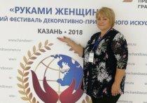 Мастерица из Тверской области участвовала во всероссийском фестивале