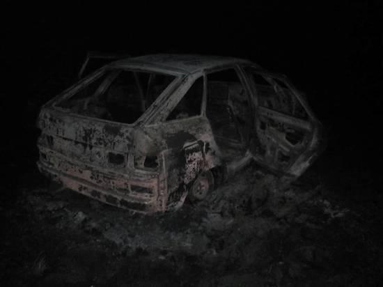 В Бондарском районе в авто нашли обгоревшее тело мужчины