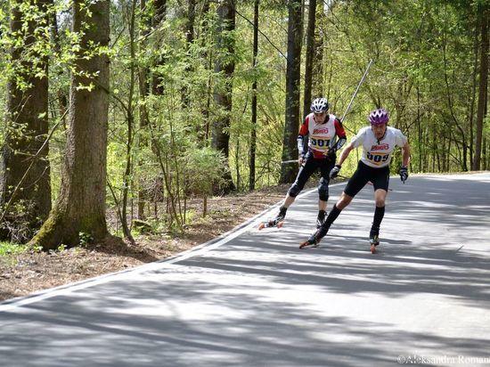 В Тверской области торжественно открыли обновлённую лыжероллерную трассу