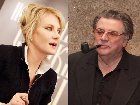 Рената Литвинова и Александр Ширвиндт на театральной премии «МК»: онлайн