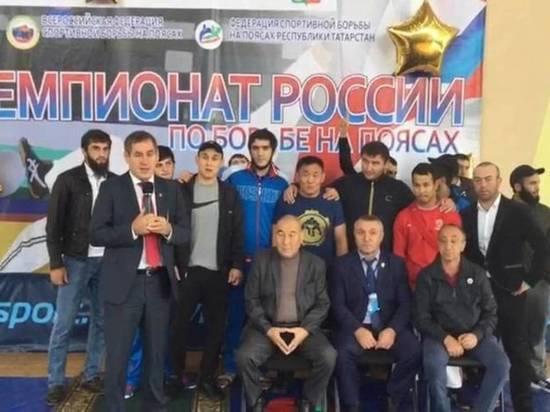 Калмыцких борцов дисквалифицировали за драку на чемпионате России