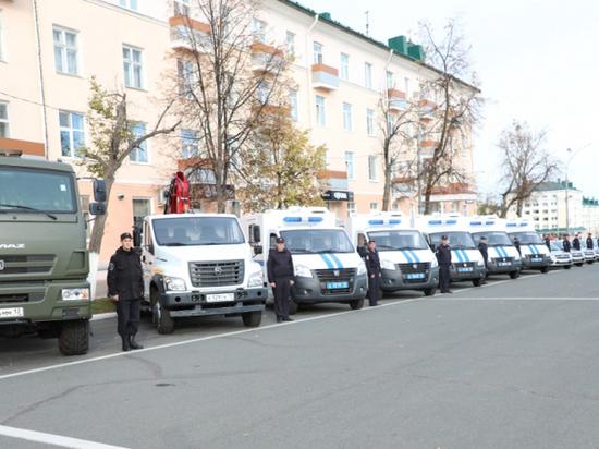 Автопарк мордовской полиции снова пополнился