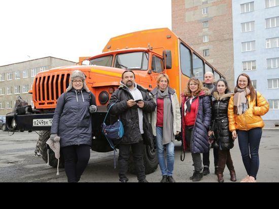 Журналисты ведущих СМИ побывали в Норильске и Дудинке