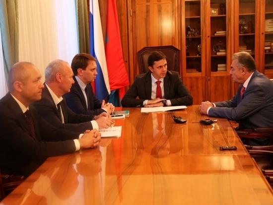 Губернатор Орловской области встретился с серьезным инвесторов