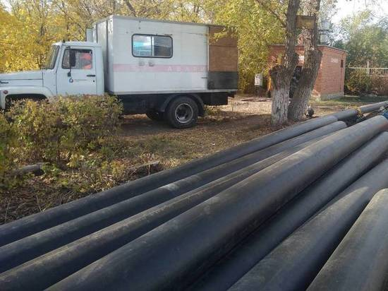 «Росводоканал Оренбург» построит к концу года новый водовод в Промышленном районе