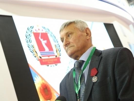 Волгоградский фермер получил орден из рук Дмитрия Медведева
