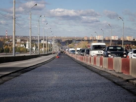 Ремонт Мызинского моста закончат к ноябрю