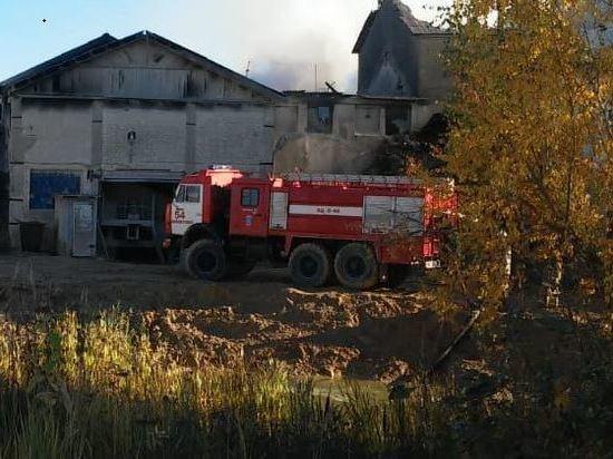 Названа причина пожара на Щебзаводе под Калугой