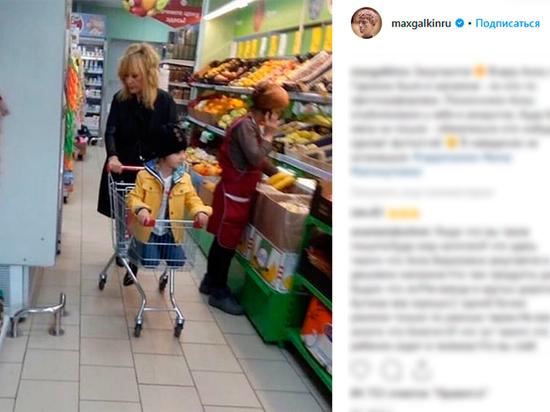 Пугачева покупает продукты в дешевых супермаркетах