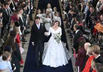 Внучка Елизаветы II вышла замуж за торговца вином в «Русском кокошнике»