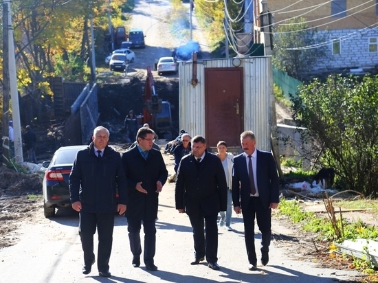 Вадим Соколов посетил реконструкцию Синицына моста