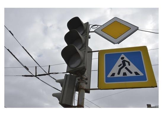 Водителей предупреждают: в Серпухове временно отключен светофор