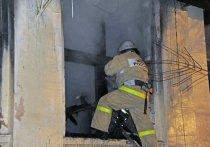 В Волжском пожарные 3 часа тушили возгорание на металлическом складе