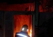 Ночью в Туле произошел пожар