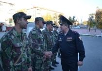Из командировки на Северный Кавказ вернулся калужский ОМОН