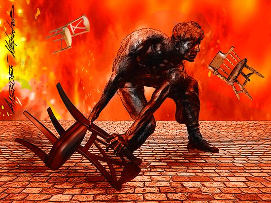 Драки стульями а-ля Кокорин и Мамаев стали популярны в России