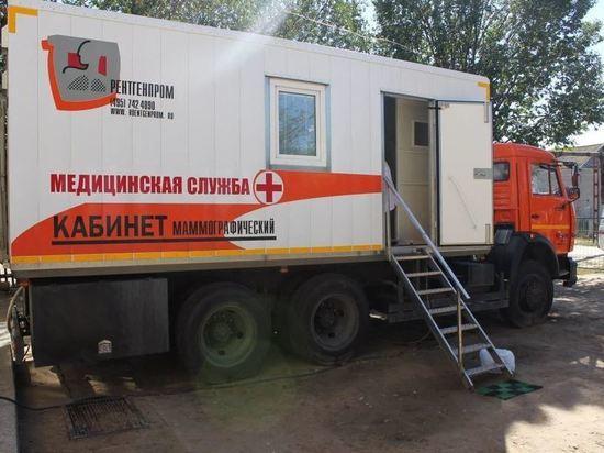 В Калужской области функционируют маммографические передвижные комплексы