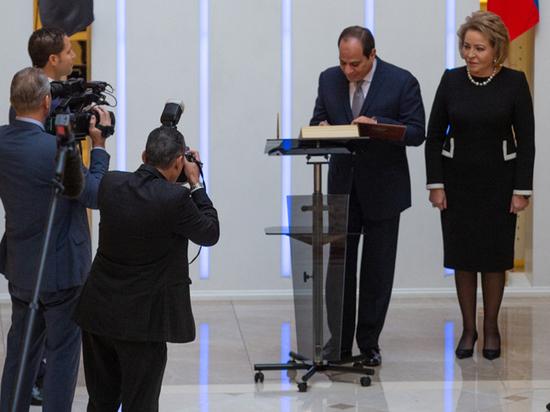 Президент Египта: глобализация делает терроризм экзистенциальной проблемой