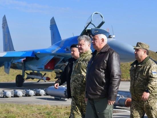 Вгосударстве Украина  разбился Су-27. Погибли украинский иамериканский пилоты