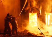 В девять утра горел дом в Маймаксе
