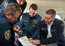 Андрей Бочаров и Олег Гребенюк инспектируют пожароопасные территории
