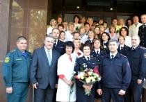 День создания медико-санитарной службы МВД  отметили в Калуге
