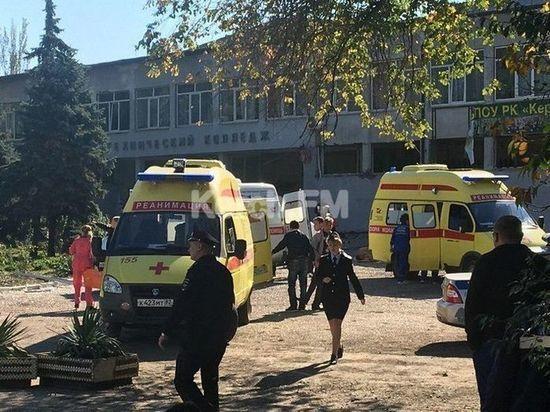 В Керченском колледже взрыв: онлайн-трансляция