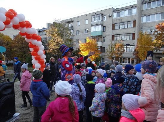 Праздничный переполох на детской площадке от энергетиков «Т Плюс»