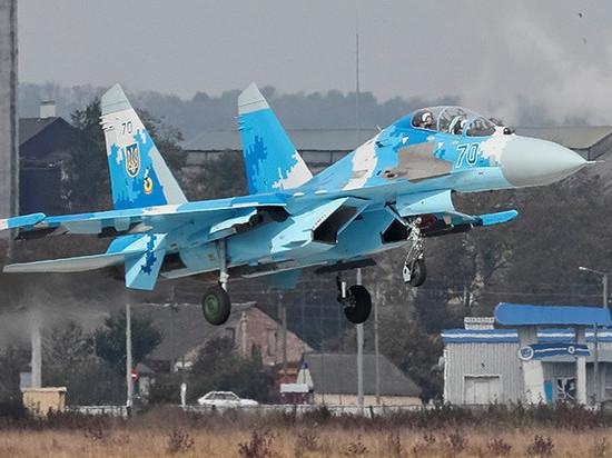 ВВС США прокомментировали крушение Су-27 на Украине
