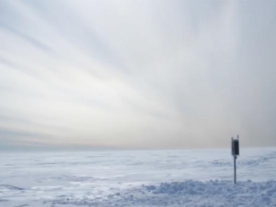 Опубликовано видео «поющих» ледников в Антарктиде