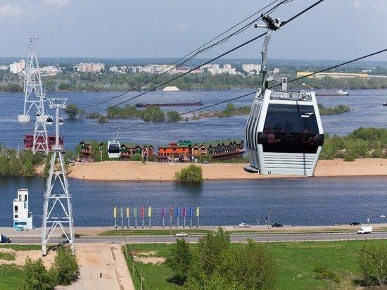 В Ульяновске может появиться канатная дорога через Волгу