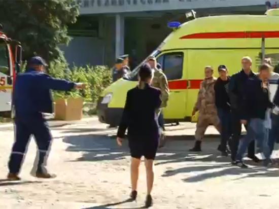 Директор взорванного колледжа в Керчи: «Полно трупов»