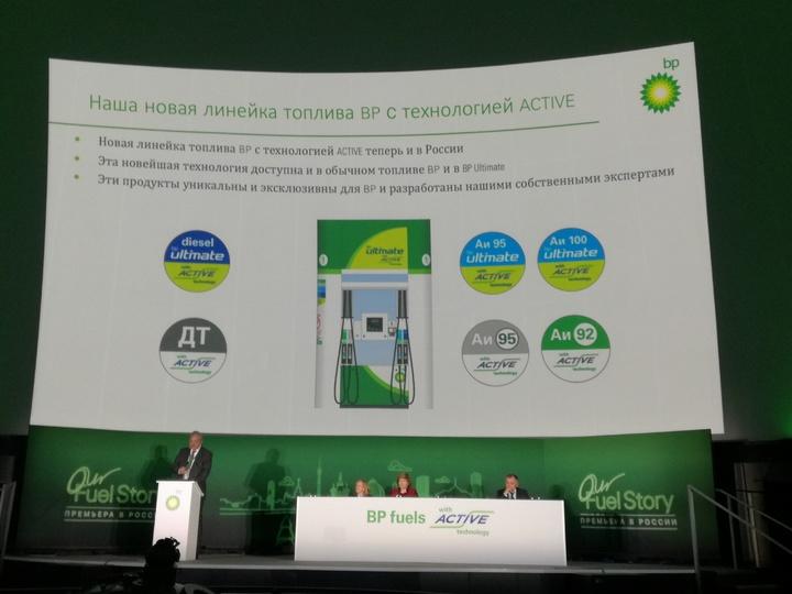 «Роснефть» и BP запускают в РФ продажу топлива с уникальной технологией ACTIVE