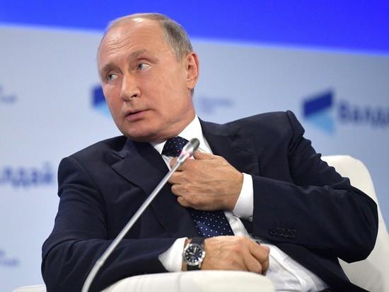 Путин рассказал, кому достаются его подарки